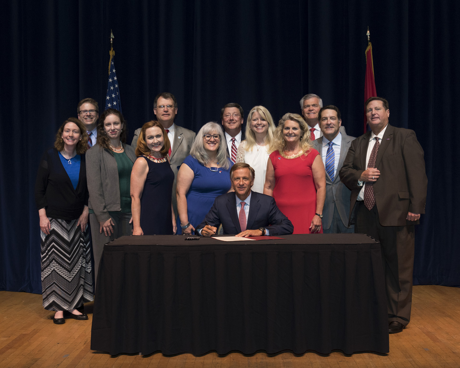 TN Senator Tracy announces signing of the Teacher Bill of Rights