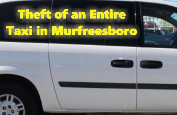 Stolen Taxi in Murfreesboro