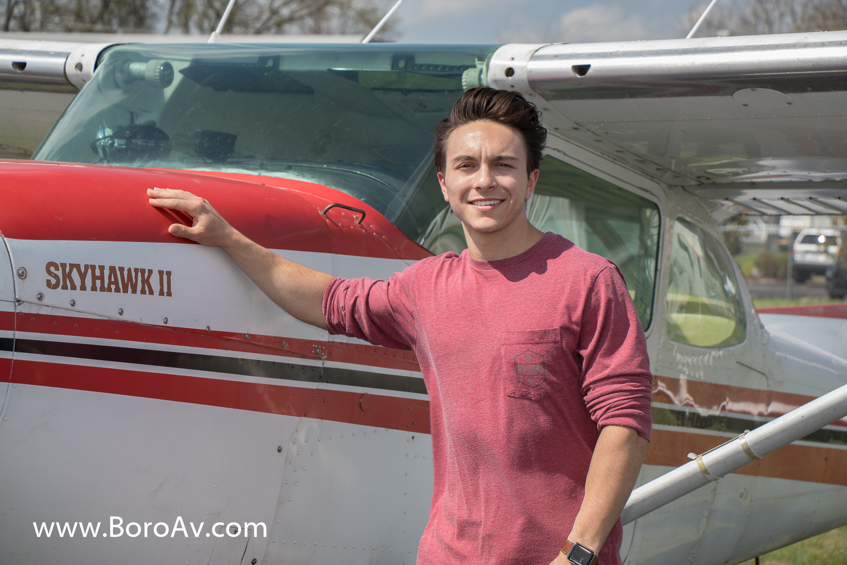 Tom Tippin, son of country music star Aaron Tippin, earns pilots license in Murfreesboro