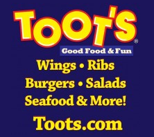 Help out the local Special Olympics by eating at Toot's South on Tuesday