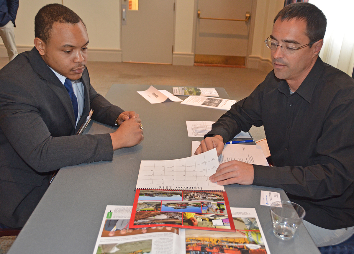 Speed networking helps MTSU students gain 'concrete' leads for internship opportunities