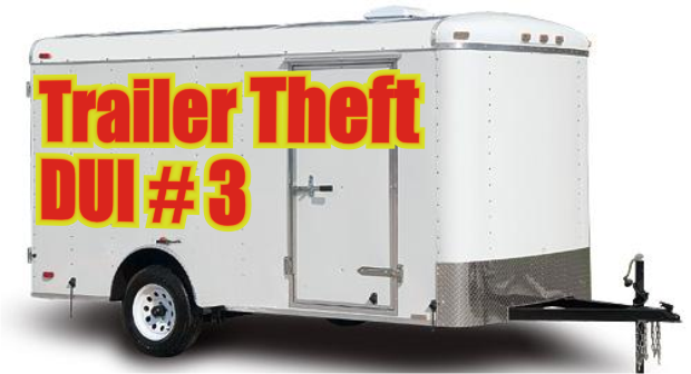 Smyrna man charged with 3rd DUI and Trailer Theft in Murfreesboro