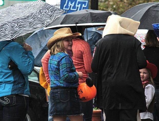 Halloween on the Murfreesboro Square is October 30, 2015
