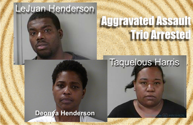Trio accused of home invasion in Murfreesboro