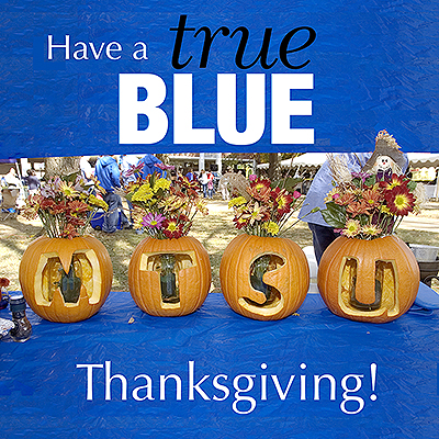 MTSU Closing for the Thanksgiving Holiday
