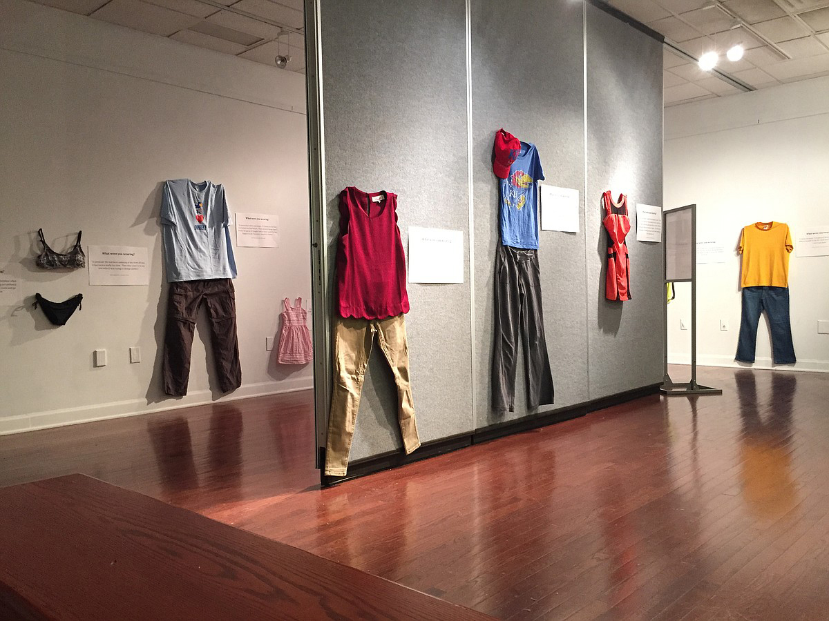 'What Were You Wearing?' exhibit  launches MTSU Sexual Assault Awareness Month