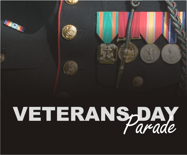 Veterans Day Parade in Murfreesboro November 12th