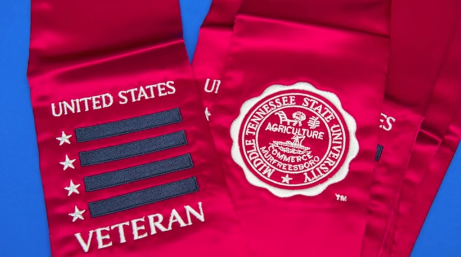 Military Veterans Graduating from MTSU