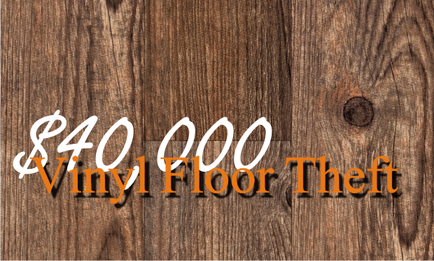 $40,000 Worth of Vinyl Flooring Stolen in Murfreesboro  | vinyl floor,floor,flooring,construction theft,theft,Murfreesboro theft