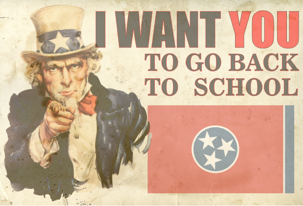Tennessee Wants College Drop-Outs