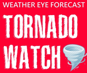 TORNADO WATCH UNTIL 1AM