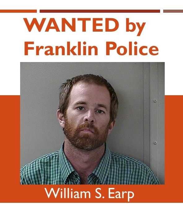 Franklin Police on the search for a Murfreesboro man