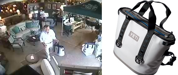 Do you recognize this man who stole a cooler in Murfreesboro?