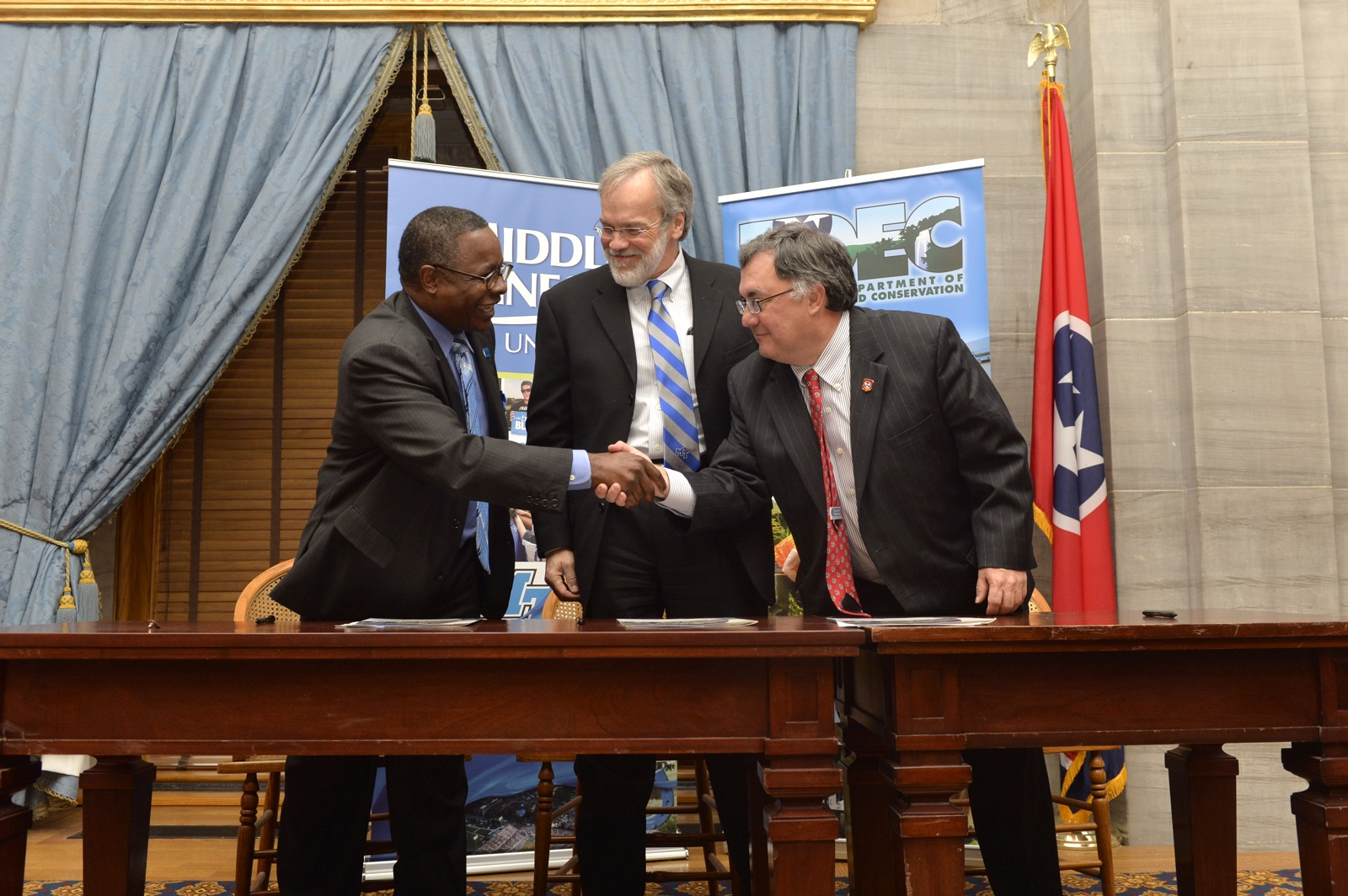 PARTNERS: Tennessee Department of Environment and Conservation and MTSU