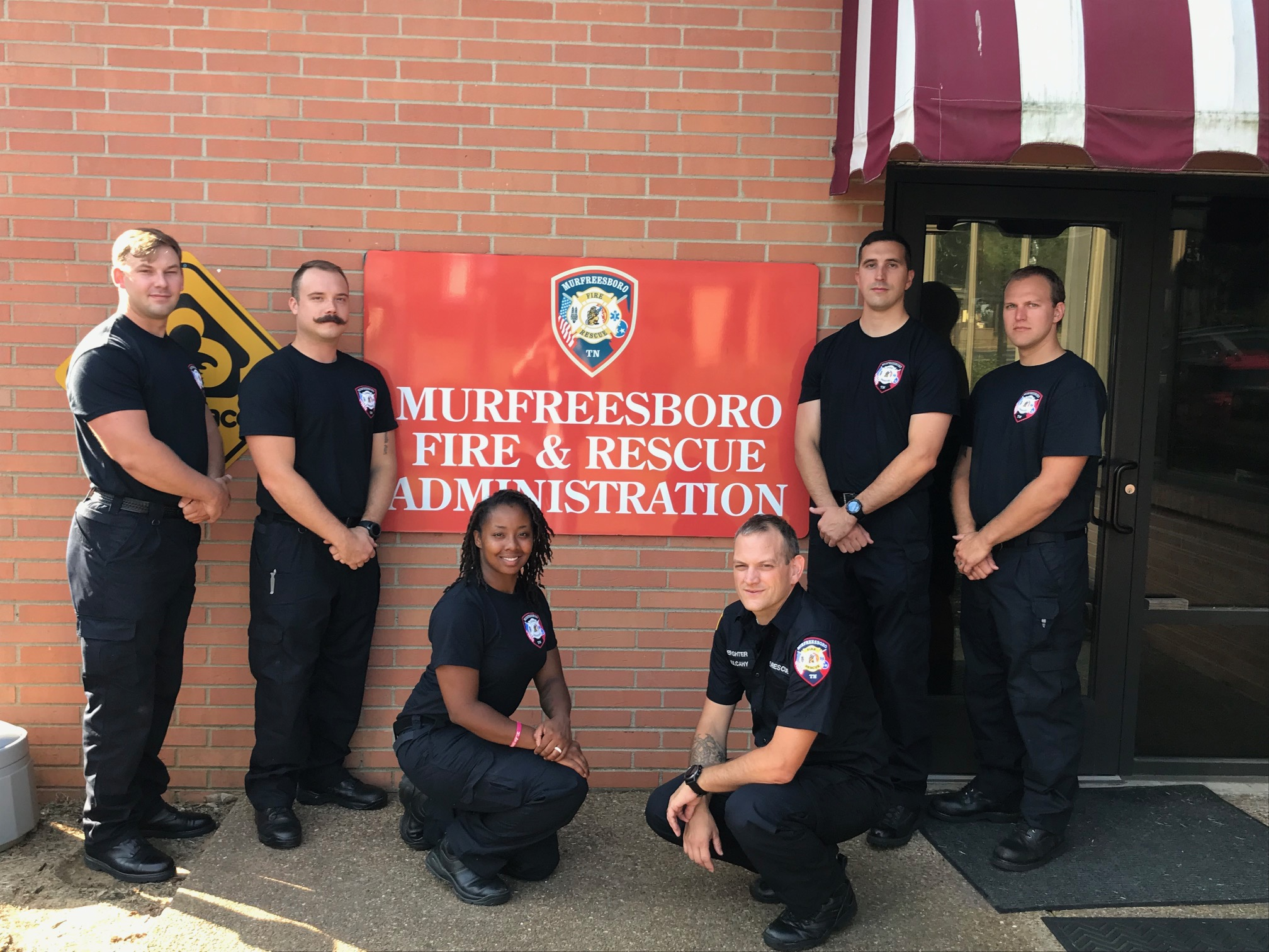 New Murfreesboro Firefighters