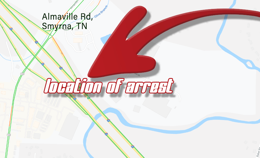 Alleged Hit and Run Driver Arrested  | hit and run,Murfreesboro,Smyrna,shots fired