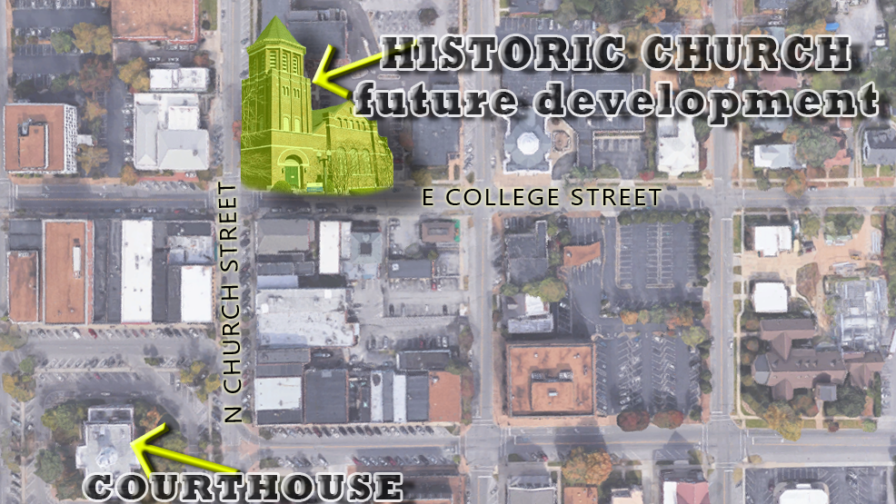 UPDATE: Developer Now Controls Future of 131 Year Old Bell Tower on Church and College Streets
