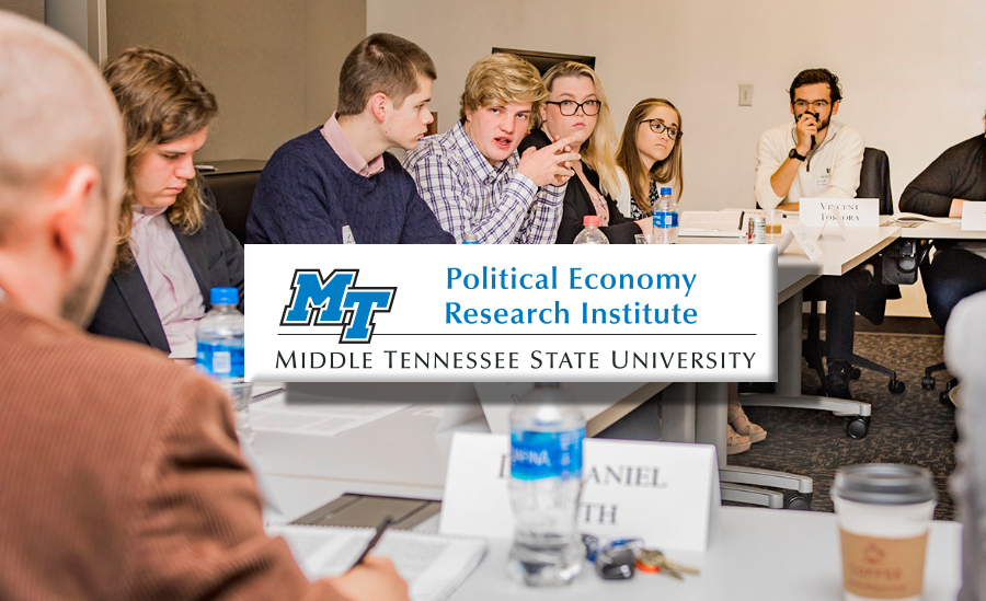 Political Economy Research Institute at MTSU Announces Slate of Public Speakers for Fall 2019