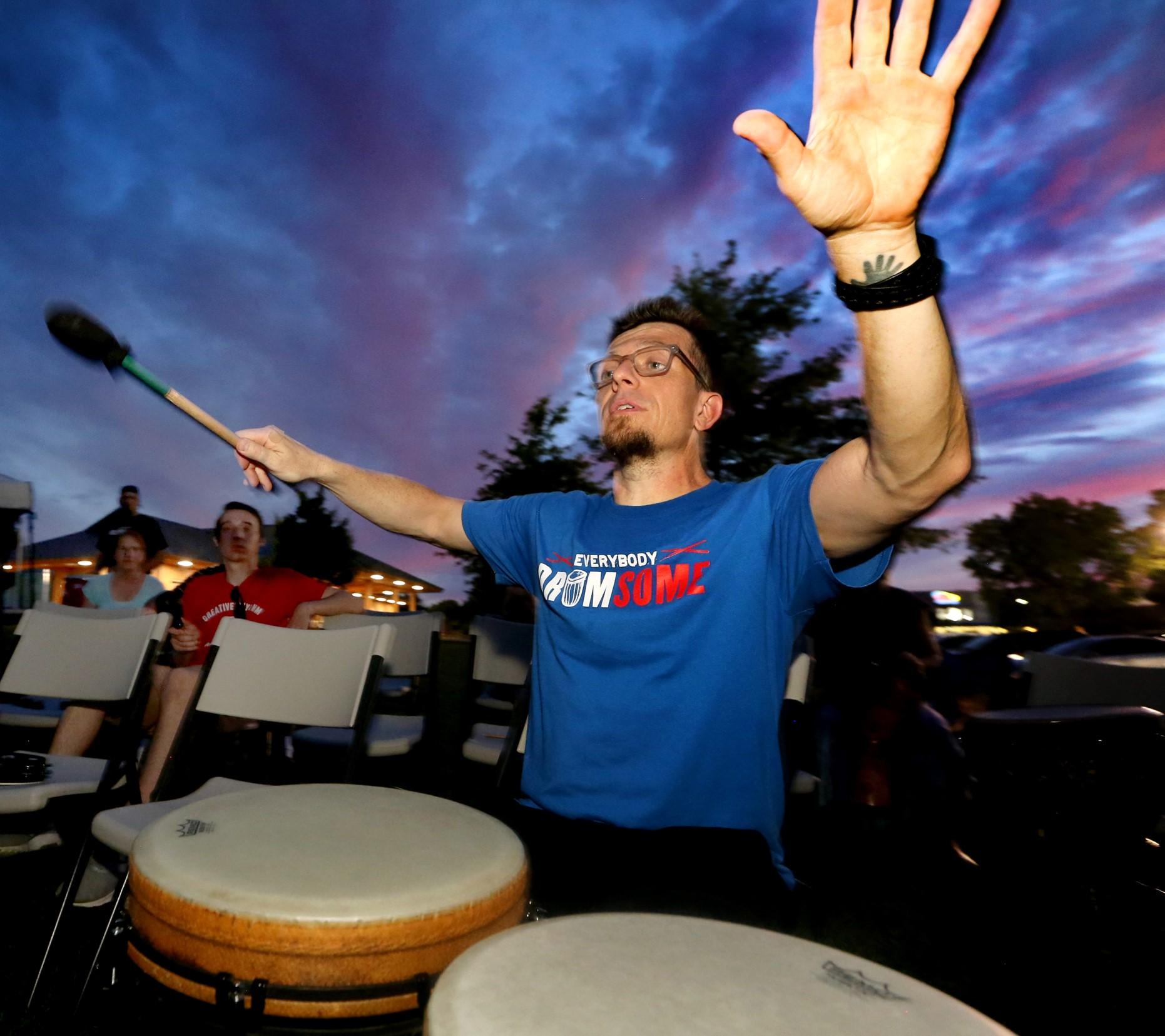 The Make Music Day Murfreesboro Community Rhythm Event