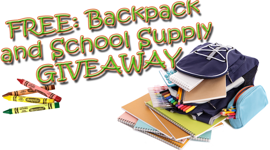 FREE Backpacks and School Supplies