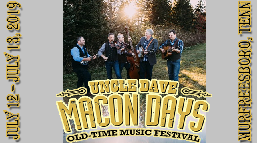 Balsam Range - Uncle Dave Macon Days 2019 Heritage Award Winner