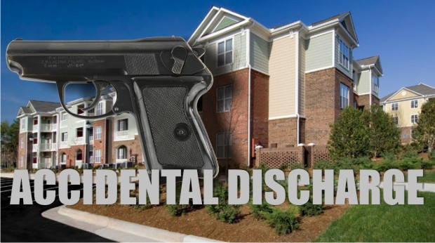 Accidental discharge of a weapon at a Murfreesboro apartment