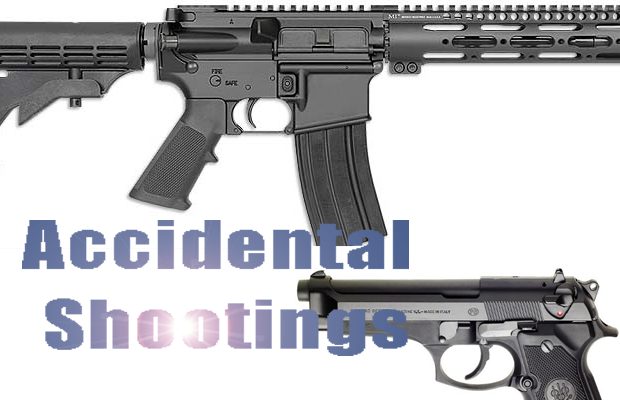 Accidental shooting with an AR-15 in Murfreesboro, also accidental shooting with a 9mm