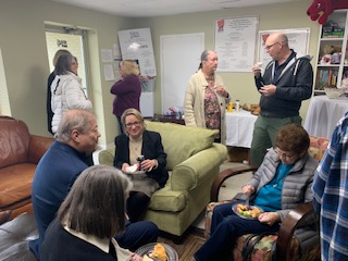 The Cannon County Child Advocacy Center was filled with Child Protective Investigative Team members, staff from non-profit agencies, local supporters, and our neighbors at the courthouse on Wednesday, January 29, 2020.  They all stopped in to visit and say farewell...
