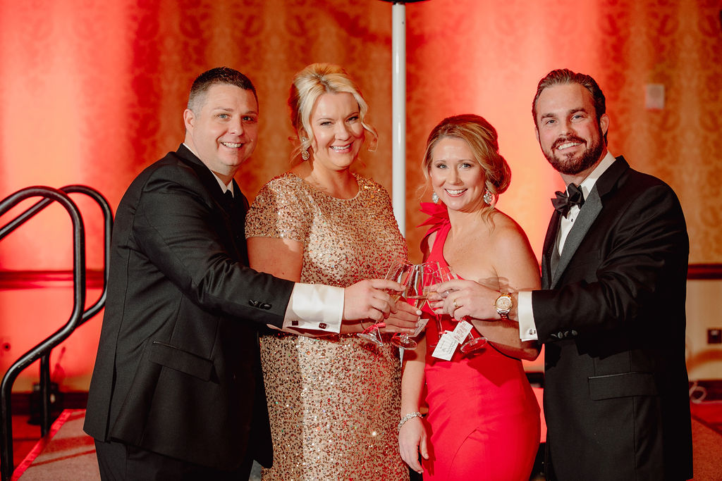 A record-breaking 750 local supporters and volunteers were in attendance at the annual Rutherford Heart Ball this past Saturday at Murfreesboro's Embassy Suites raising a record-breaking $315,000 to fight heart disease and stroke.