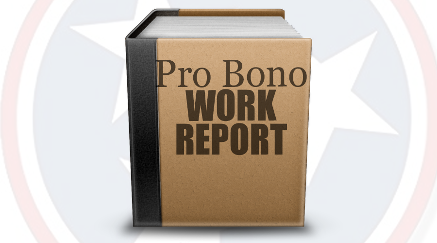 640,958 hours of Pro Bono Attorney Work to those Unable to Afford it in Tennessee