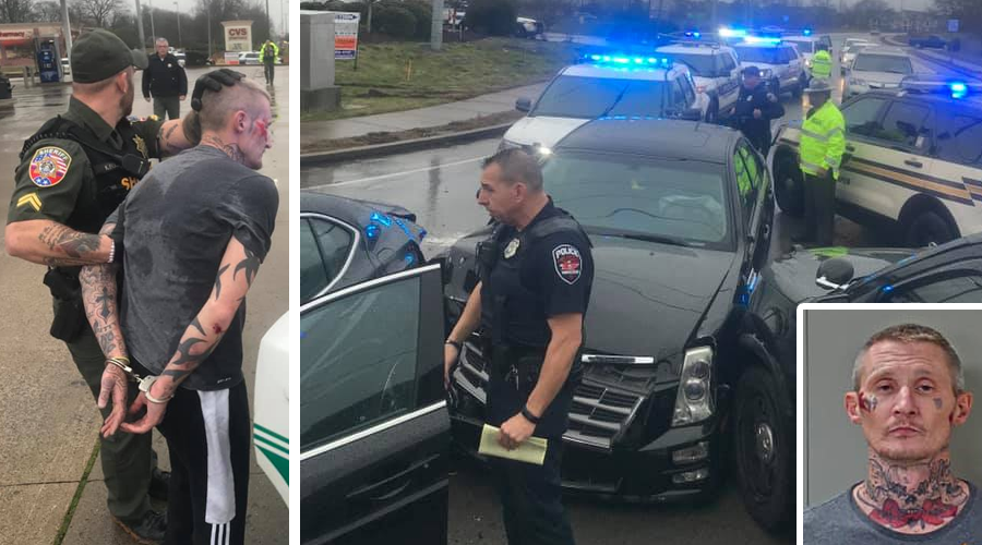 Arrest made in Ramming of a Murfreesboro Police Car occured and more