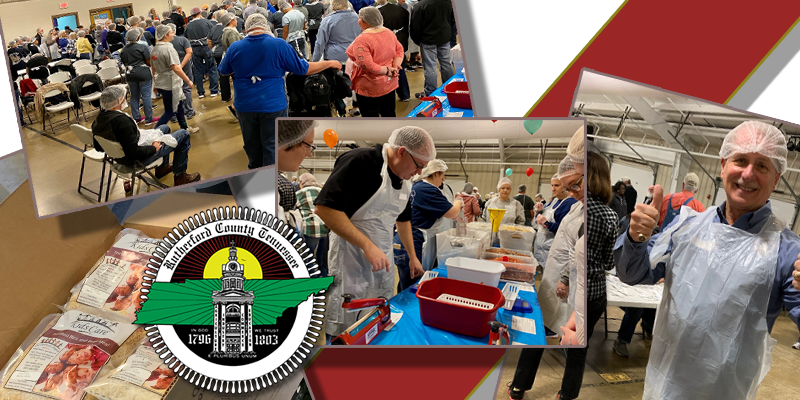 Rutherford County Employees Package Over 50,000 Meals Saturday to Tackle Hunger Issues Locally
