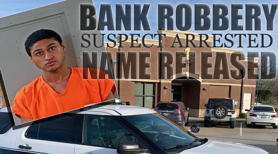 24-Year Old Devon Gault Arrested For 2 Bank Robberies