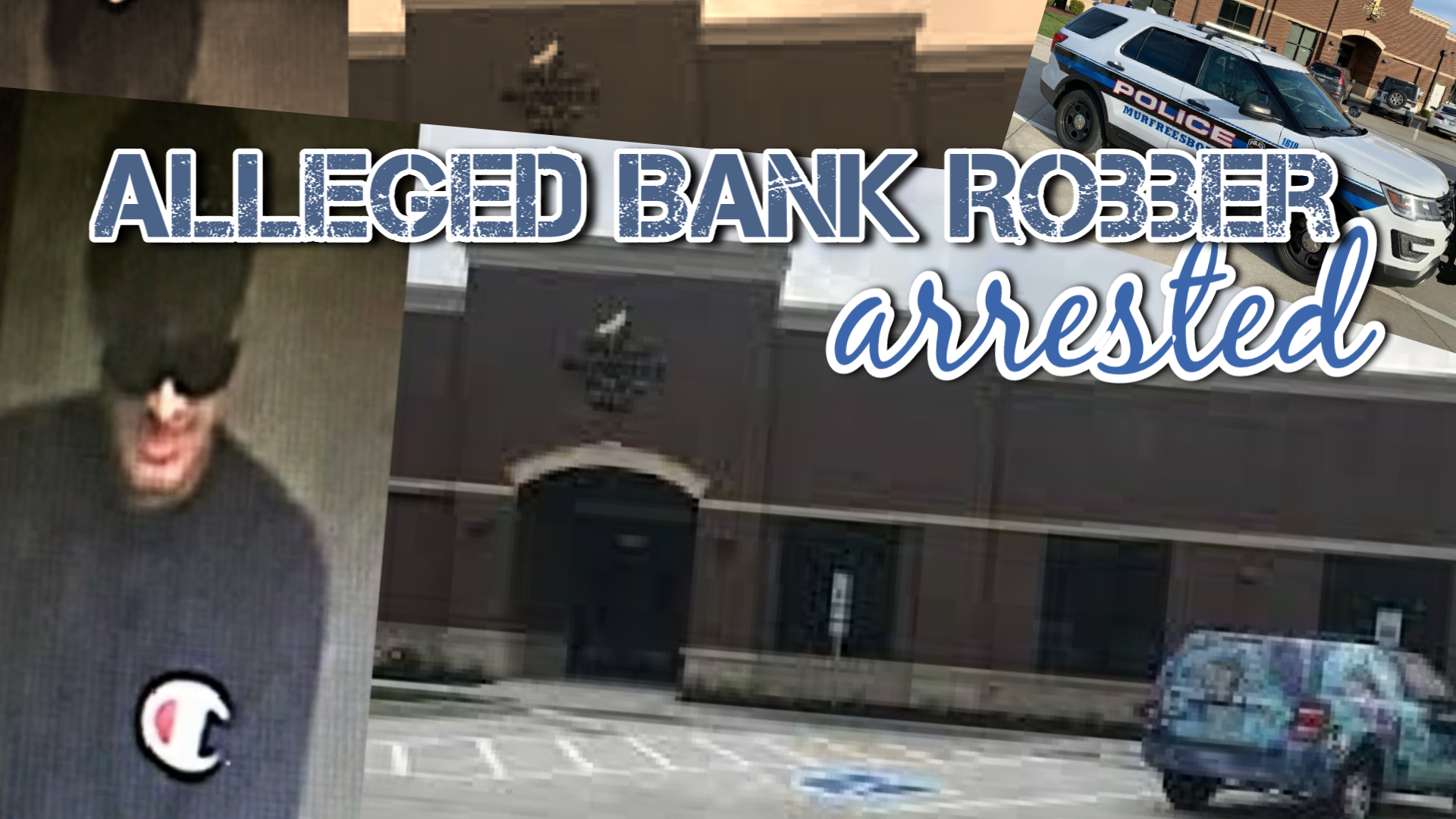 MPD Arrests Bank Robber Within 1-Hour