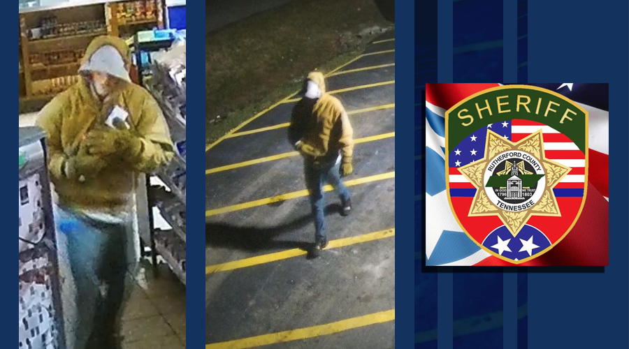 A subject was accused of breaking into the C&E Market on February 8th and the Rutherford County Sheriff's Office is investigating the crime.