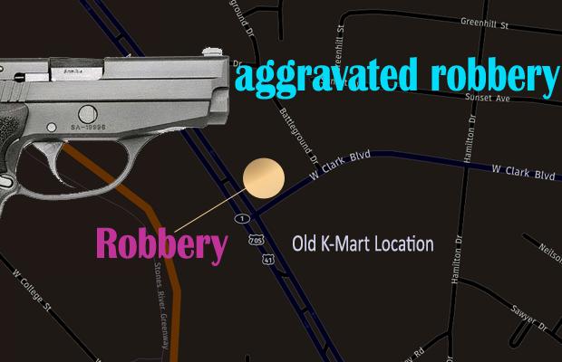Aggravated Robbery in Murfreesboro