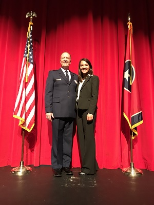 Rutherford County Schools graduate commissioned into U.S. Air Force