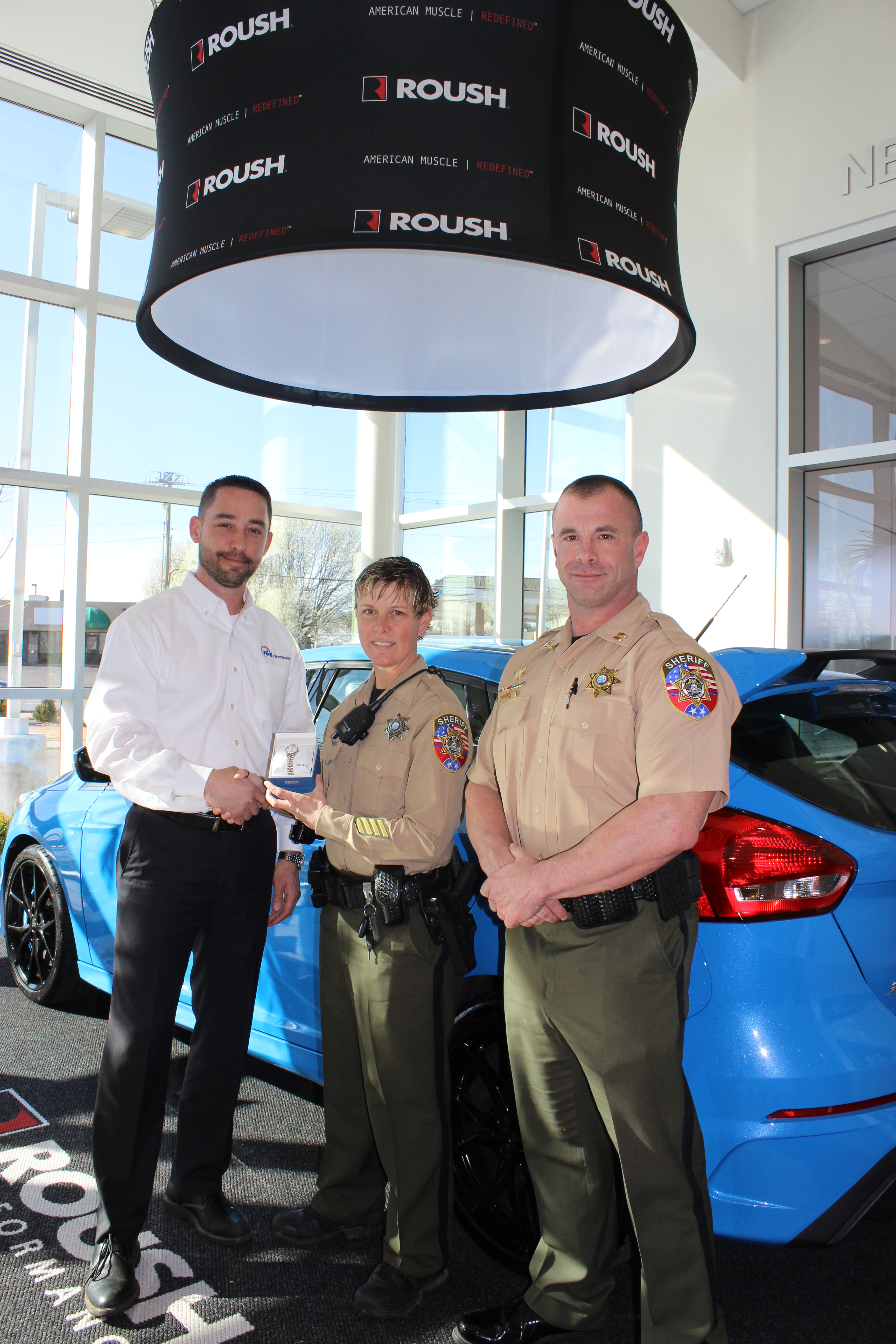 Ford of Murfreesboro ficer of the Month in Rutherford County