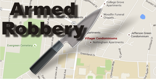 Armed Robbery with a Knife in Murfreesboro