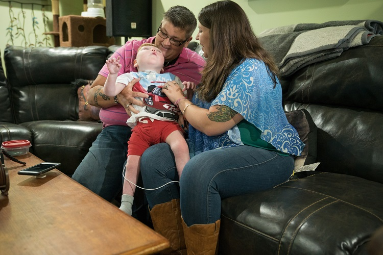 SMYRNA: Raising children who are severely disabled is not an easy task for most