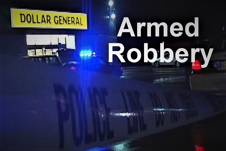 Armed Robbery at O'Reilly's on S.E. Broad