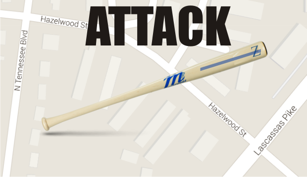 Man Allegedly Beat with Baseball Bat at a Murfreesboro Apartment Complex