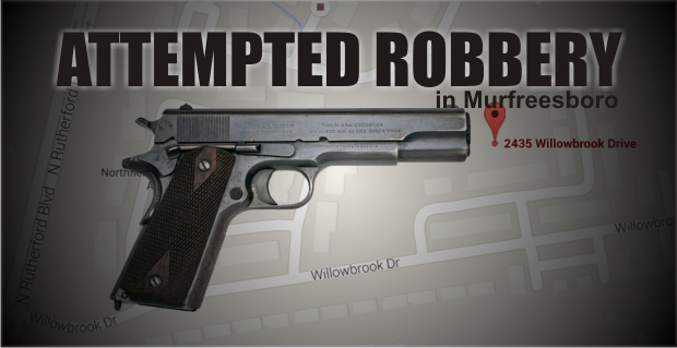 Subjects allegedly open fire in attempted holdup