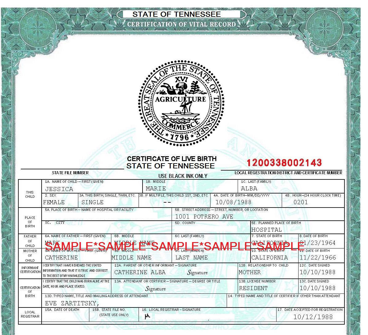 Need a birth certificate you will have to go to a new location the tennessee department of health office of vital records which provides copies of birth certificates and other important documents is moving 1betcityfo Image collections