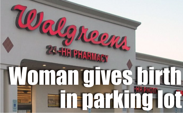 Woman gives birth in Walgreens parking lot on Monday in LaVergne