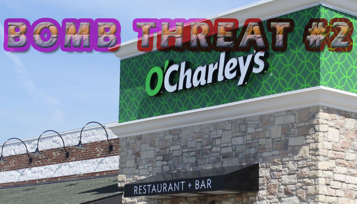 Halloween Bomb Threat at Murfreesboro O'Charley's for the 2nd Time