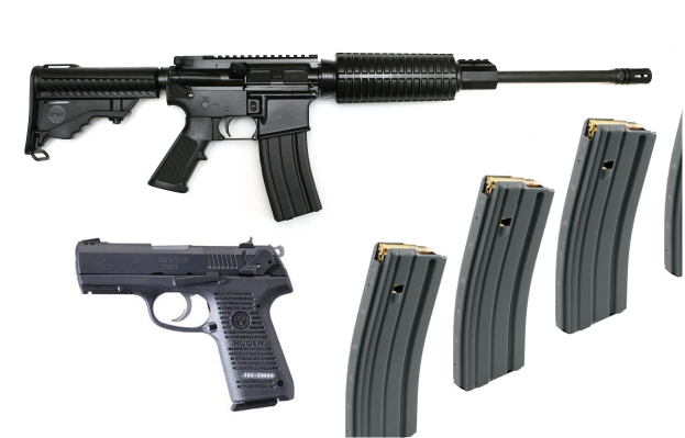 AR-15 and Handgun Stolen in Murfreesboro