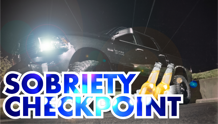 Sobriety Checkpoint in Murfreesboro Friday Night