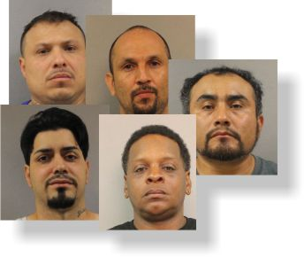 5 Men Arrested and 103 Pounds of Cocaine Seized
