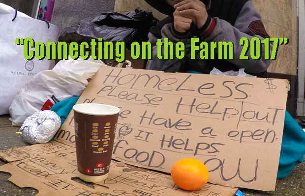 Connecting on the Farm 2017 to Benefit The Journey Home